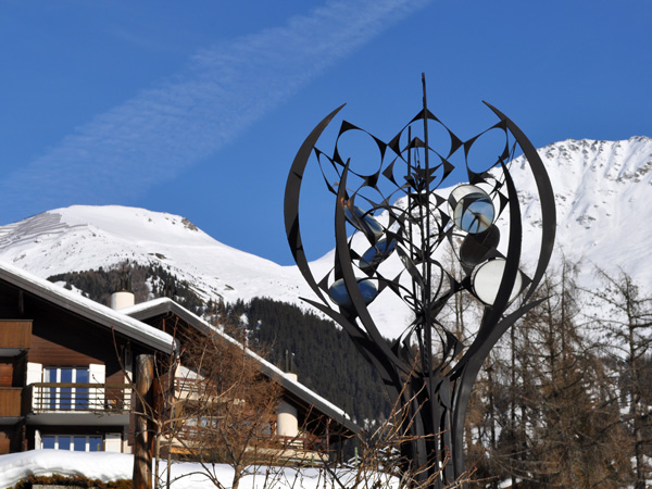 Verbier (Valais), décembre 2011.