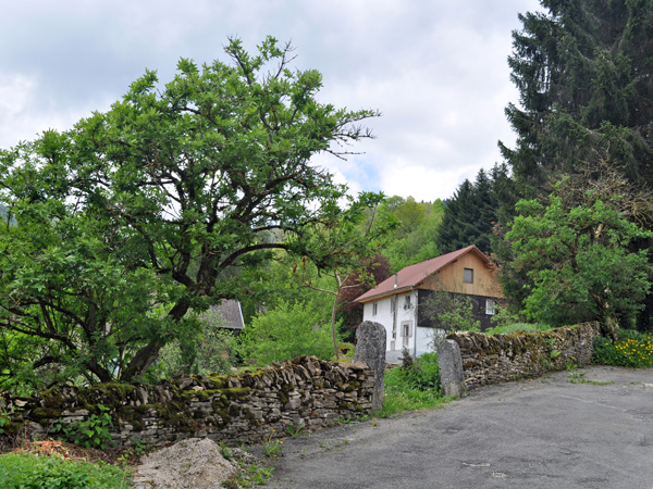 Goumois, in the Jura Mountains, on the border between Switzerland and France, May 2012.