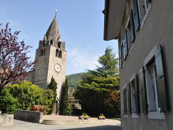 Balade dans le quartier du Cloître et autour du Château, mai 2012.