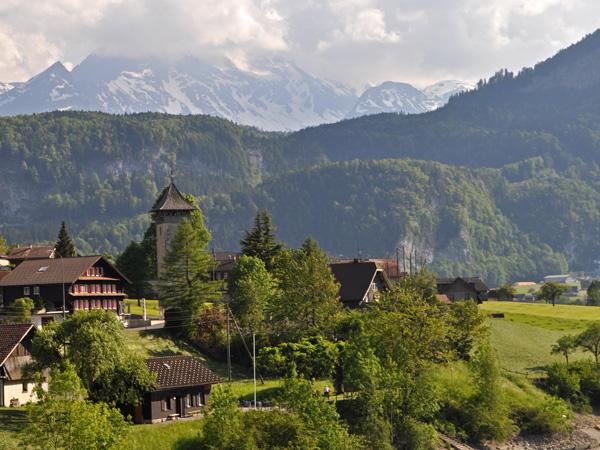 A la découverte du canton d'Obwald, mai 2012. Lungern.