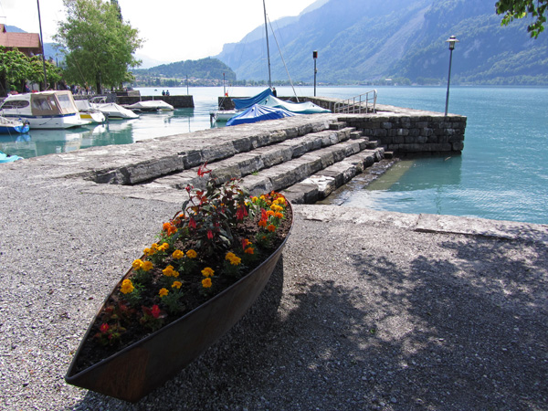 Balade en images à Brienz et dans les environs, Oberland bernois, mai 2012.