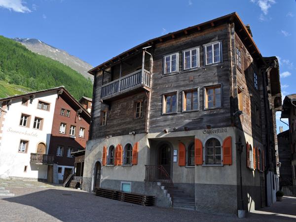 A la découverte du Saastal, Valais, juin 2012. Saas-Grund.