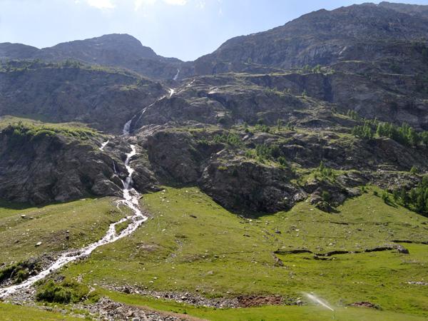 A la découverte du Saastal, Valais, juin 2012.