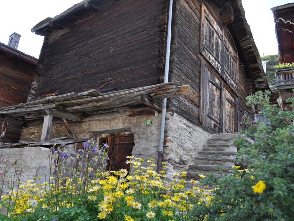 A la découverte de Saas-Fee, Valais, juin 2012.