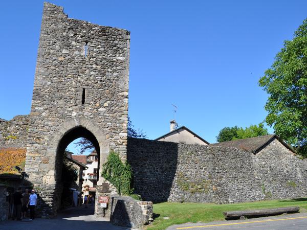 La cité médiévale d'Yvoire, en France, face à Nyon, juin 2012.