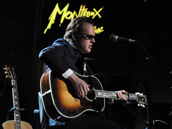 Montreux Jazz Festival 2012: Joe Bonamassa Acoustic Project, June 29, Miles Davis Hall.