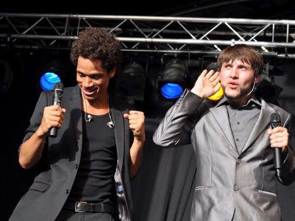 Montreux Jazz Festival 2012: Slixs, June 30, Music in the Park (Parc Vernex).