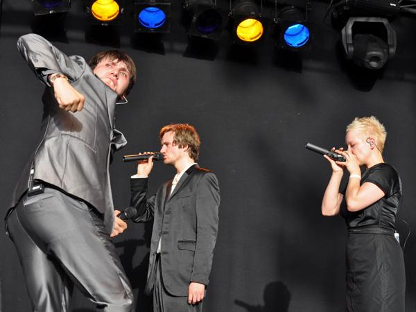 Montreux Jazz Festival 2012: Slixs, June 30, Music in the Park (Parc Vernex).
