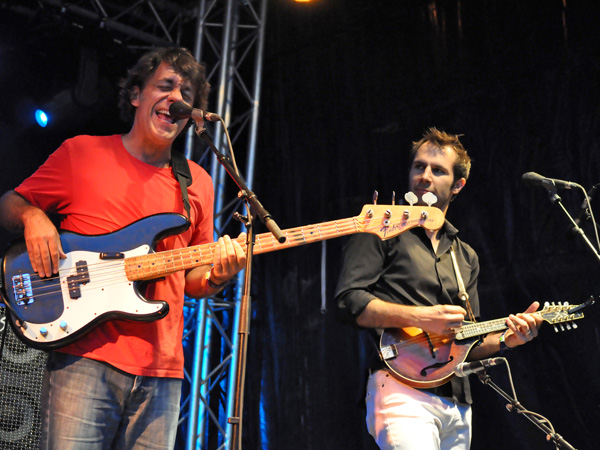 Montreux Jazz Festival 2012: Eddie From Ohio, July 2, Music in the Park (Parc Vernex).