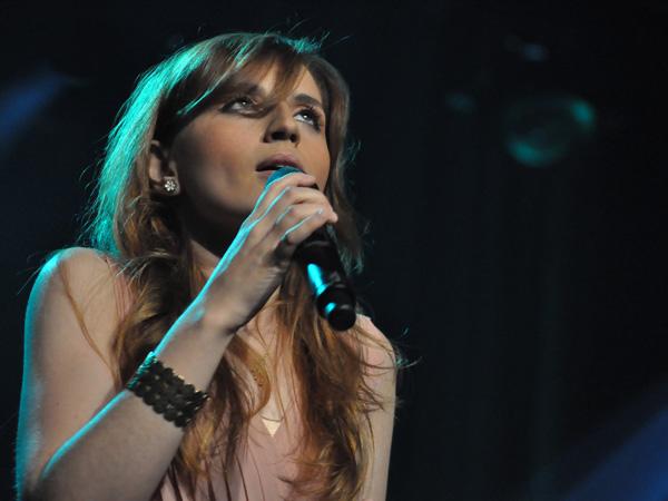 Montreux Jazz Festival 2012: Chiara Izzi & Band, July 3, Miles Davis Hall. Winner Vocal Competition 2011.