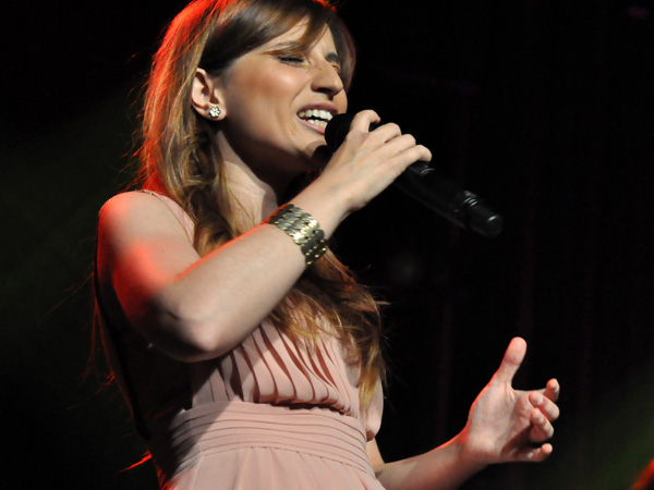 Montreux Jazz Festival 2012: Chiara Izzi & Band, July 3, Miles Davis Hall. Winner Vocal Competition 2011.