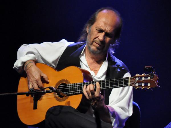 Montreux Jazz Festival 2012: Paco de Lucia & Band, July 3, Miles Davis Hall.