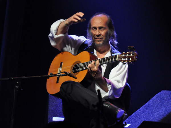 Montreux Jazz Festival 2012: Paco de Lucia & Band, July 3, Miles Davis Hall.