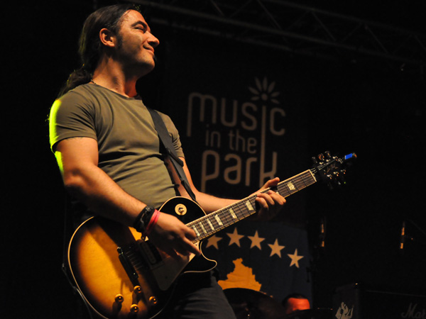 Montreux Jazz Festival 2012: Jericho, July 4, Music in the Park (Parc Vernex). Eastern Delights from Kosovo.