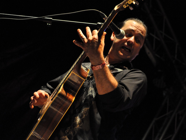 Montreux Jazz Festival 2012: Del Castillo, July 5, Music in the Park (Parc Vernex). Latin rock from the USA.