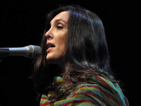 Montreux Jazz Festival 2012: Adriana Calcanhotto, July 6, Auditorium Stravinski.