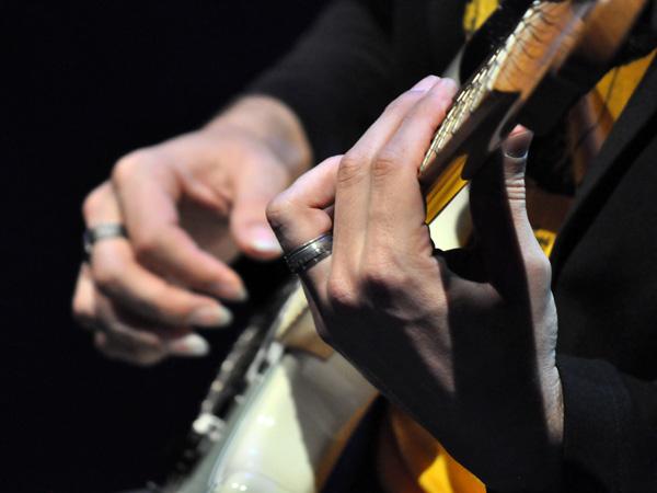 Montreux Jazz Festival 2012: Adriana Calcanhotto, July 6, Auditorium Stravinski.