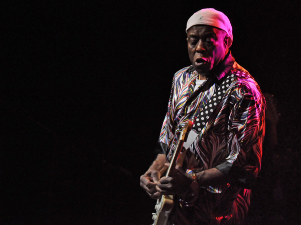 Montreux Jazz Festival 2012: Buddy Guy, July 7, Auditorium Stravinski.