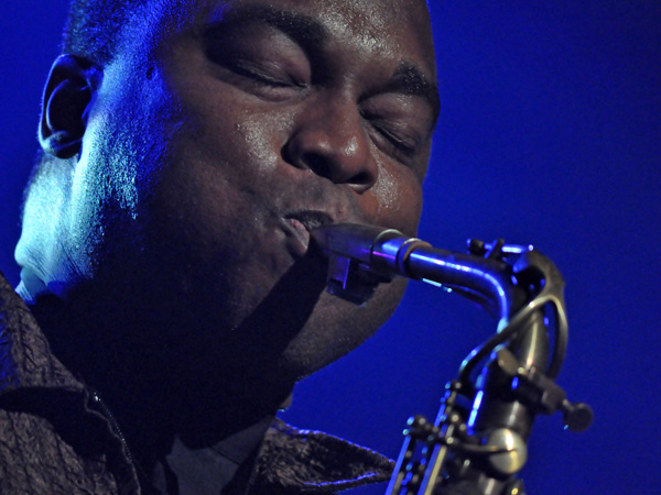 Montreux Jazz Festival 2012: James Carter Organ Trio, July 7, Miles Davis Hall.