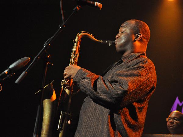 Montreux Jazz Festival 2012: James Carter Organ Trio, July 7, Miles Davis Hall.