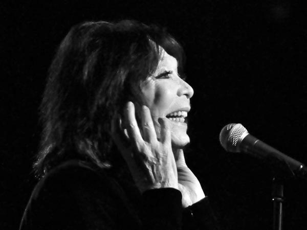 Montreux Jazz Festival 2012: Juliette Gréco, July 8, Miles Davis Hall.
