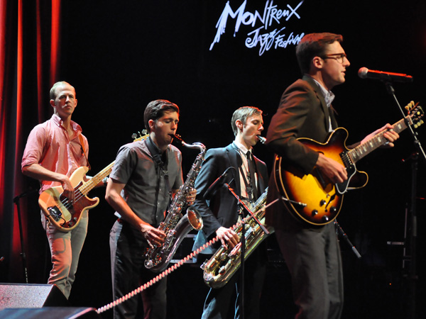 Montreux Jazz Festival 2012: Nick Waterhouse, July 10, Auditorium Stravinski.