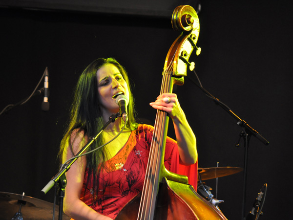 Montreux Jazz Festival 2012: Megitza, July 11, Music in the Park (Parc Vernex).