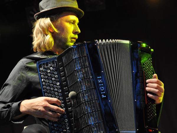Montreux Jazz Festival 2012: Megitza, July 11, Music in the Park (Parc Vernex).