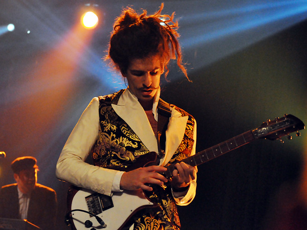 Montreux Jazz Festival 2012: King Charles, July 13, Miles Davis Hall.