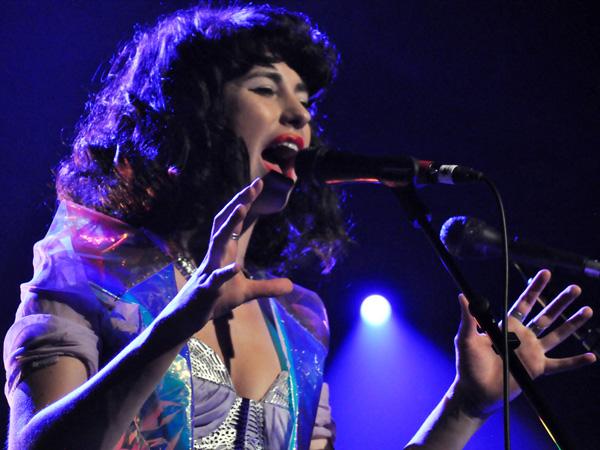 Montreux Jazz Festival 2012: Kimbra, July 14, Miles Davis Hall.