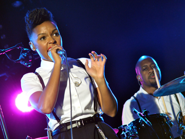 Montreux Jazz Festival 2012: Janelle Monáe, July 14, Miles Davis Hall.