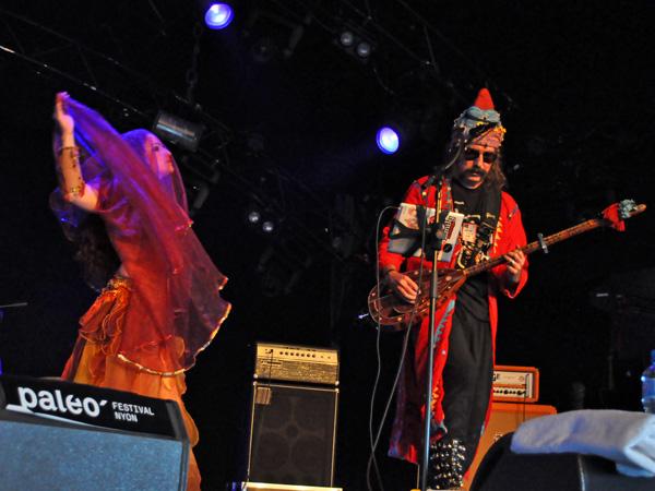 Paléo Festival 2012, Nyon: Baba Zula, July 17, Dôme.