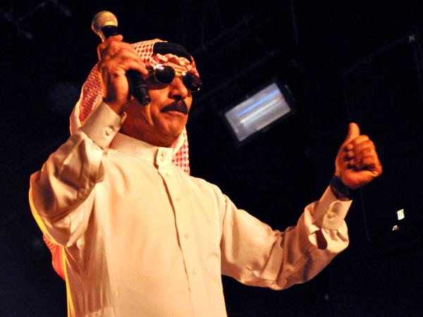 Paléo Festival 2012, Nyon: Omar Souleyman, July 17, Dôme.