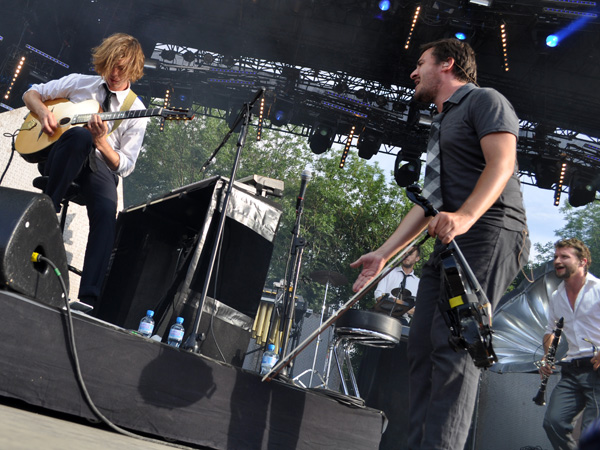 Paléo Festival 2012, Nyon: Caravan Palace, July 19, Grande Scène.