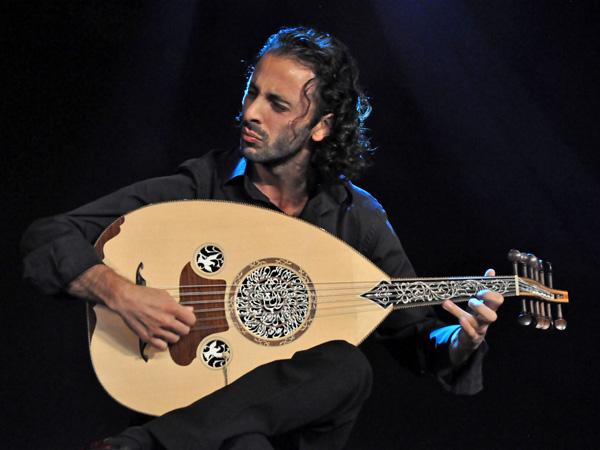Paléo Festival 2012, Nyon: Trio Joubran, July 19, Dôme.