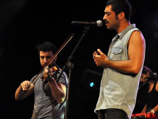 Paléo Festival 2012, Nyon: Mashrou' Leila, July 19, Dôme.