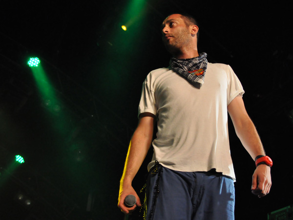 Paléo Festival 2012, Nyon: DAM (Da Arabian MC's), July 20, Dôme.
