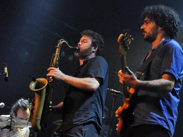 Paléo Festival 2012, Nyon: Balkan Beat Box, July 21, Dôme.