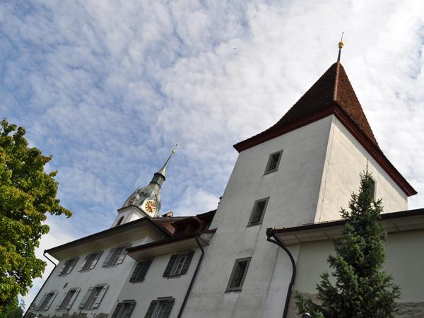 The little town of Sempach, July 2012. La petite cité de Sempach, juillet 2012.