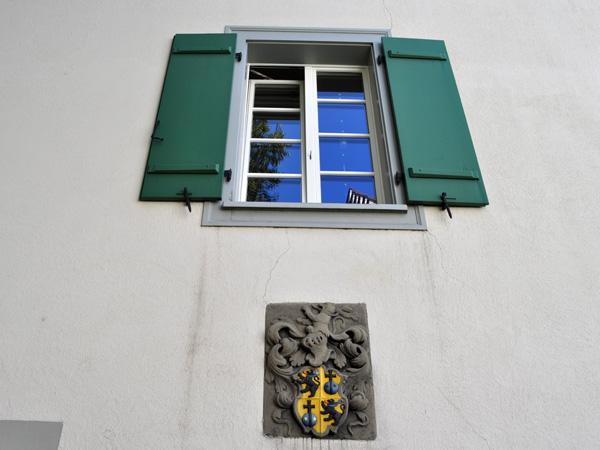 City of Altdorf, July 2012. Village d'Altdorf, juillet 2012.