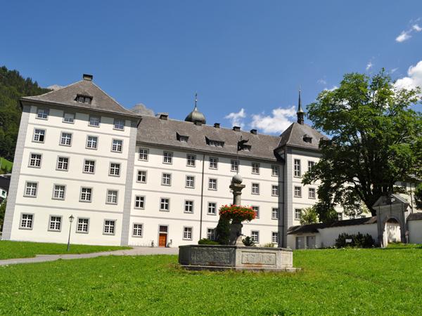 Engelberg, in Canton Obwalden, July 2012. Engelberg, dans le Canton d'Obwald, juillet 2012.