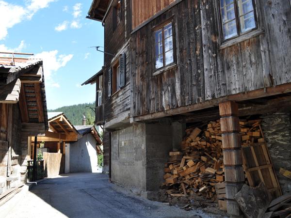 Fiesch, vallée de Conches (Gomstal, Valais), août 2012.