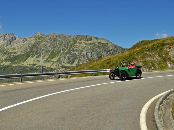 Landscape of Oberalp Pass, August 2012. Paysage du col de l'Oberalp, août 2012.