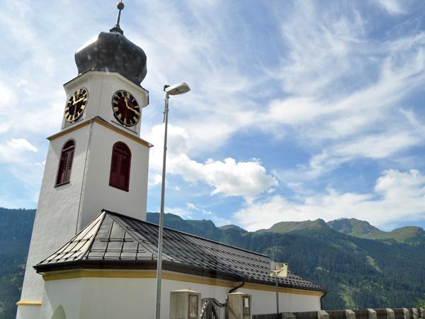 Schanfigg Valley, in Grischun (Graubünden), Southeastern Switzerland. On the road linking Chur to Arosa, August 2012.