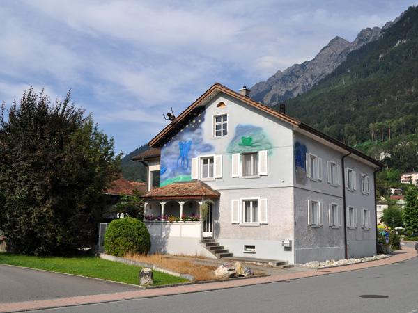 Vaduz, Liechtenstein, August 2012.
