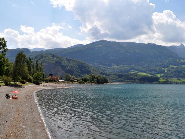 Walensee, Canton of St. Gallen, August 2012.