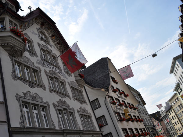 Einsiedeln, Central Switzerland, August 2012.