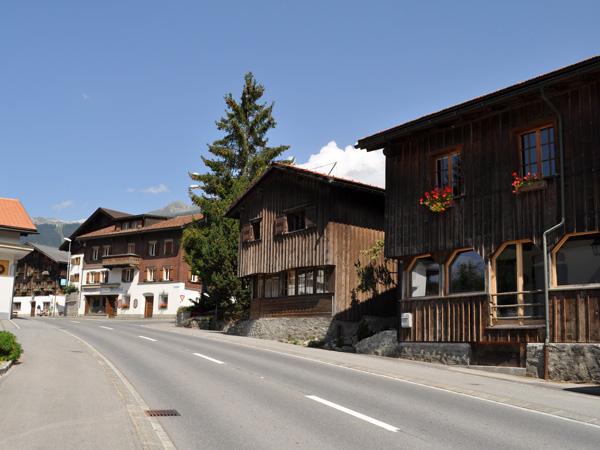 Klosters, near Davos, in Grischun (Graubünden), Southeastern Switzerland, August 2012.