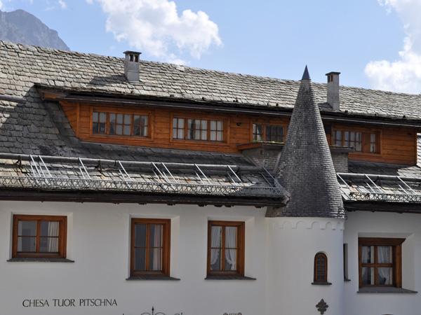 St. Moritz, in Upper Engadin, Grischun (Graubünden), August 2012.