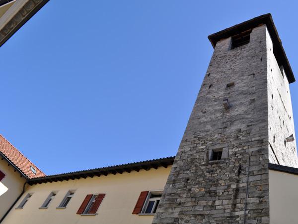 Locarno, in Ticino (Tessin), on the shores of Lago Maggiore, August 2012.